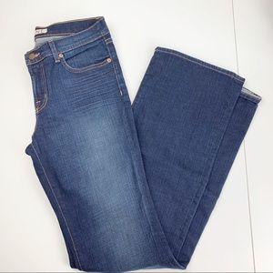 J brand the bootleg dark wash jeans